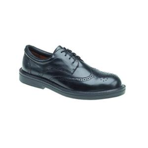 9810 Black Brogue Shoe
